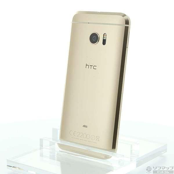 HTC10 HTV32 32GB トパーズゴールド auの画像