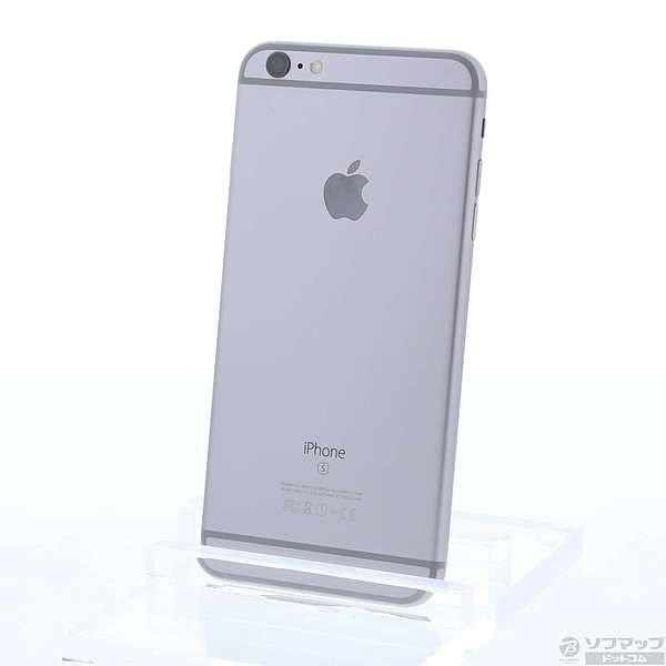 iPhone6S Plus 16GB スペースグレイ (MKU12J/A) docomoの画像