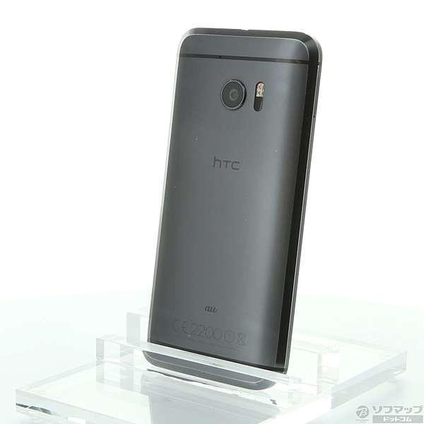 HTC10 HTV32 32GB カーボングレイ auの画像