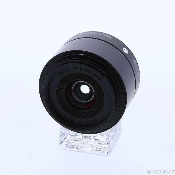 〔中古〕SIGMA(シグマ) 〔展示品〕 SIGMA AF 19mm F2.8 DN (マイクロ4/3用) (ブラック) (Art) (レンズ)