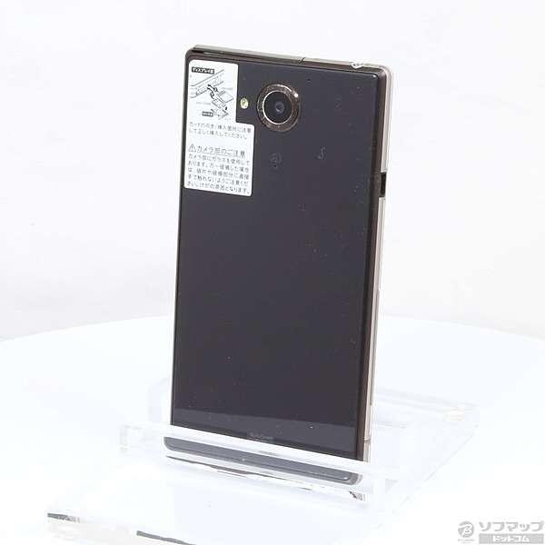 AQUOS Xx-Y 404SH 32GB アンバーブラック Y!mobileの画像