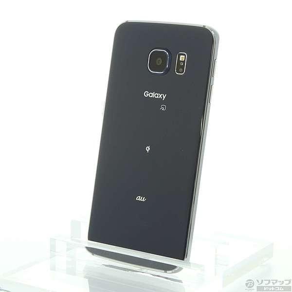 GALAXY S6 32GB ブラック auの画像