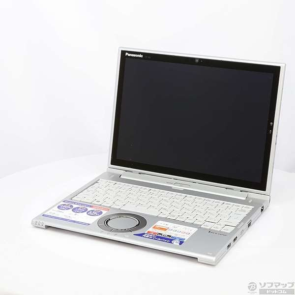 Panasonic CF-XZ62DCQR ノートパソコン Let's note(レッツノート)XZシリーズ シルバー [12.0型 /intel Core i5 /SSD:256GB /メモリ:8GB /2018年6月モデル]の画像