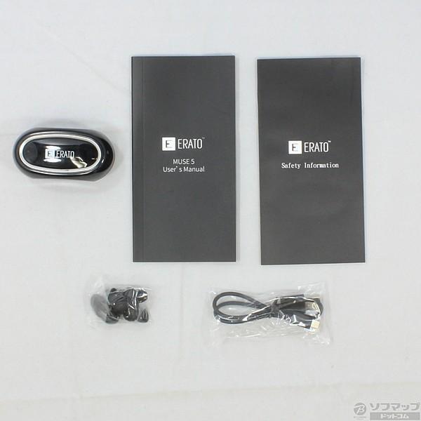 〔中古〕ERATO Erato Muse 5 True Wireless Earphones (AEMU00BK00) ブラック