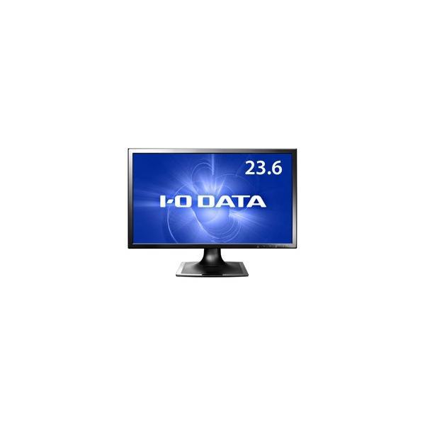 I-O DATA 23.6型ワイド LEDバックライト搭載液晶モニター ブラック LCD-MF244XBの画像