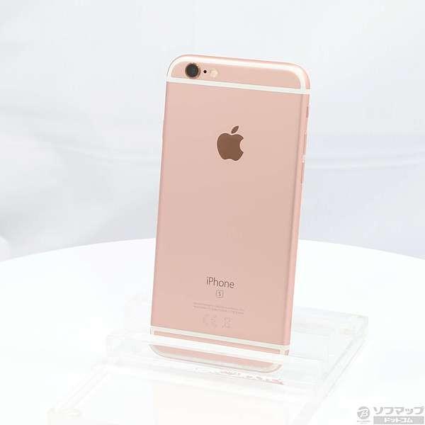 iPhone6S 32GB ローズゴールド (MN122J) SoftBankの画像