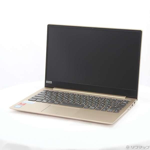 LENOVO 81AK006XJP ノートパソコン Ideapad (アイデアパッド )320S ゴールデン [13.3型 /intel Core i3 /SSD:128GB /メモリ:4GB /2017年10月モデル]の画像