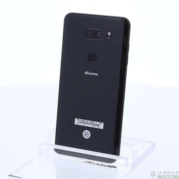 LGエレクトロニクス V30+ L-01K 128GB オーロラブラック docomoの画像