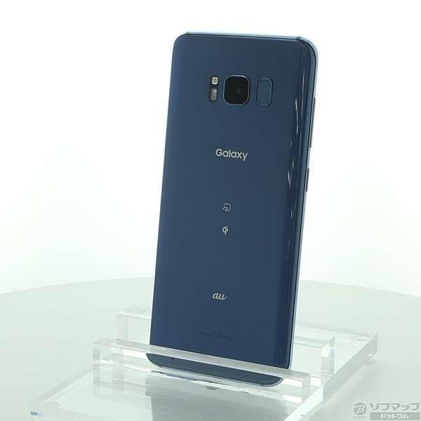 GALAXY S8+ 64GB コーラルブルー auの画像