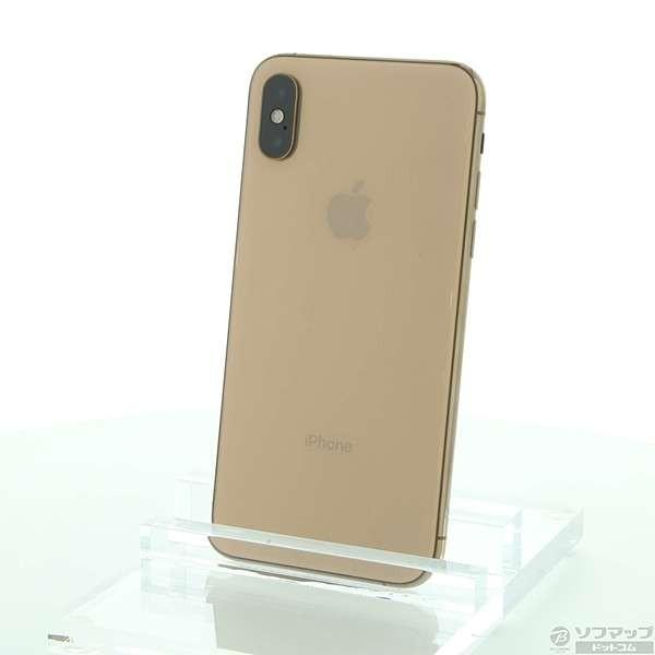 iPhone XS 512GB ゴールド au MTE52J/Aの画像