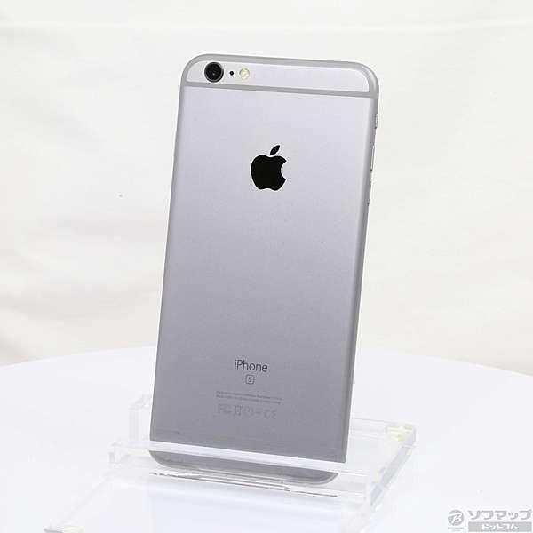 iPhone6S Plus 16GB スペースグレイ (MKU12J/A) SIMフリーの画像