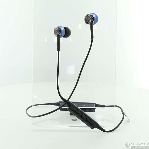 オーディオテクニカ Bluetoothヘッドホン ATH-CKR55BT BL ディープブルーの画像