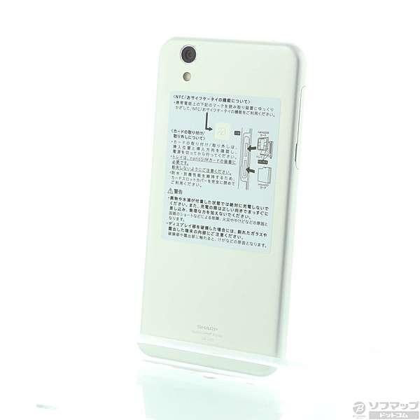 AQUOS L2 16GB ホワイト SIMフリーの画像