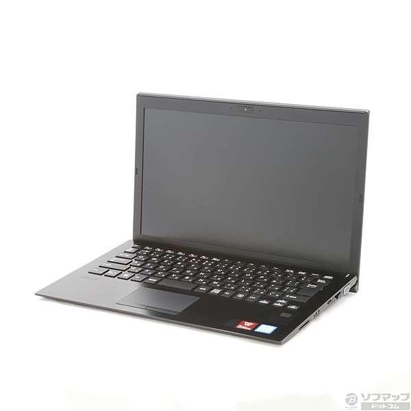 SONY VJS13290711A ノートパソコン S13 オールブラック [13.3型 /intel Core i7 /SSD:256GB /メモリ:8GB /2018年1月モデル]の画像