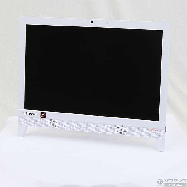 F0CL007KJP デスクトップパソコン ideacentre AIO310 ホワイト [19.5型 /HDD:500GB /メモリ:4GB /2017年秋]の画像