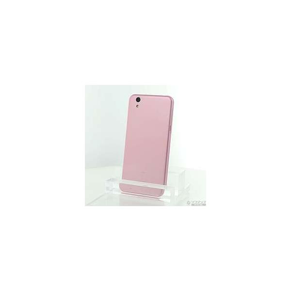 AQUOS U SHV37 16GB ピンク×パウダー auの画像
