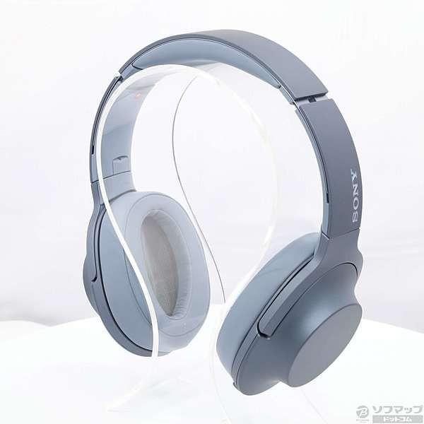 ソニー ポータブルヘッドホン高音質タイプ MDR-H600A L ムーンリットブルーの画像