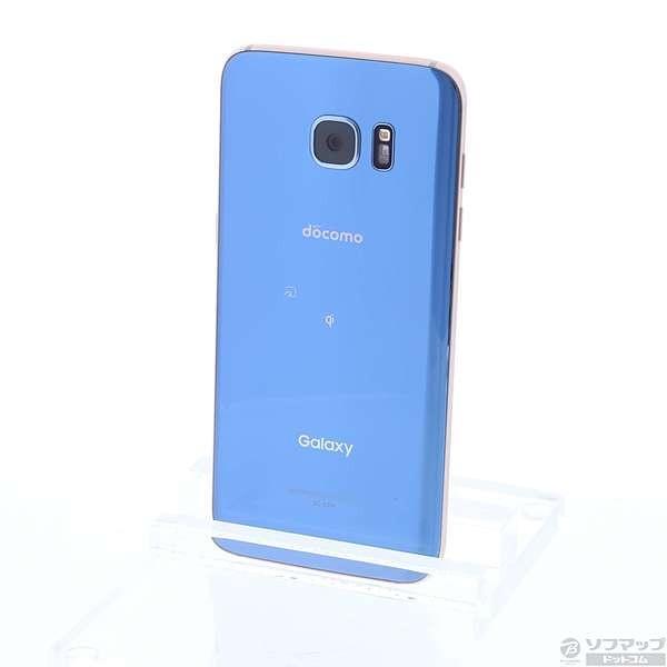 GALAXY S7 edge 32GB ブルーコーラル SIMフリーの画像