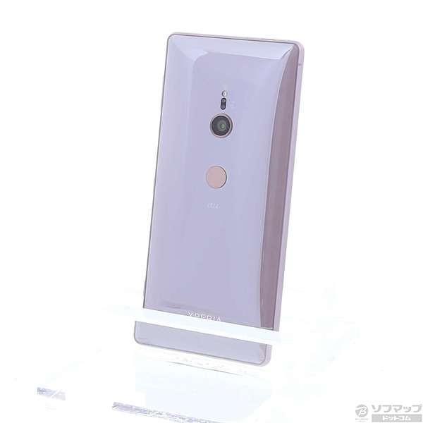 Xperia XZ2 64GB アッシュピンク auの画像