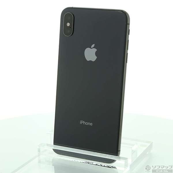 iPhone XS Max 256GB スペースグレイ docomo MT6U2J/Aの画像