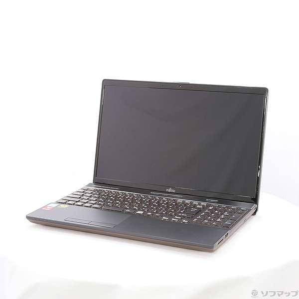 FUJITSU FMVA52C2BB ノートパソコン LIFEBOOK AH52/C2 ブライトブラック [15.6型 /intel Core i5 /SSD:256GB /メモリ:8GB /2018年12月モデル]の画像