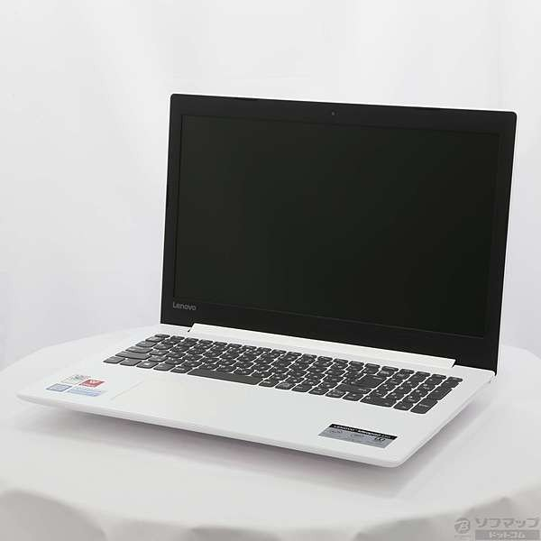 LENOVO 81DE00J4JP ideapad 330 i3 ブリザードホワイト [intel Core i3]の画像