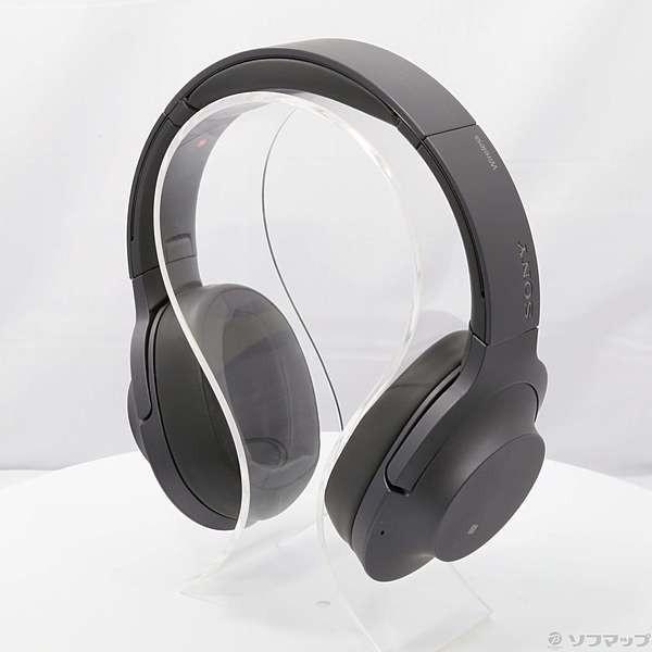 ソニー Bluetoothヘッドホン WH-H900N B グレイッシュブラックの画像