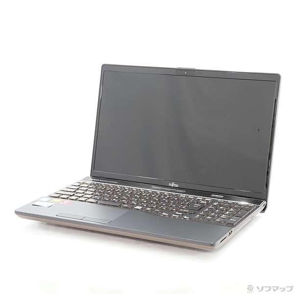 FUJITSU FMVA77C2B ノートパソコン LIFEBOOK(ライフブック) ブライトブラック [15.6型 /intel Core i7 /HDD:1TB /SSD:128GB /メモリ:8GB /2018年7月モデル]の画像