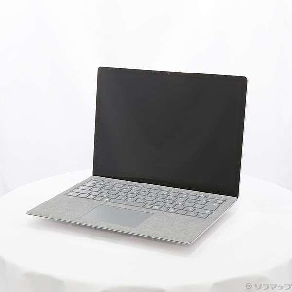 Microsoft D9P-00039 ノートパソコン Surface Laptop(サーフェス ラップトップ) プラチナ [13.5型 /intel Core i5 /SSD:128GB /メモリ:4GB /2017年7月モデル]の画像
