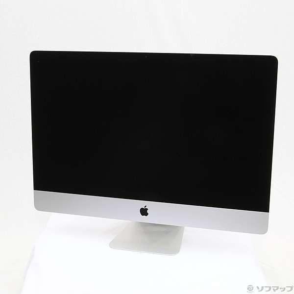 iMac 27インチ Retina 5Kディスプレイモデル[2017年/Fusion 1TB/メモリ 8GB/3.4GHz4コア Core i5]MNE92J/Aの画像