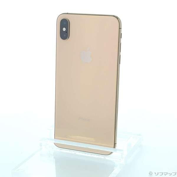 iPhone XS Max 512GB ゴールド docomo MT702J/Aの画像