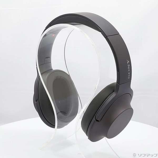 ソニー ポータブルヘッドホン高音質タイプ MDR-H600A B グレイッシュブラックの画像