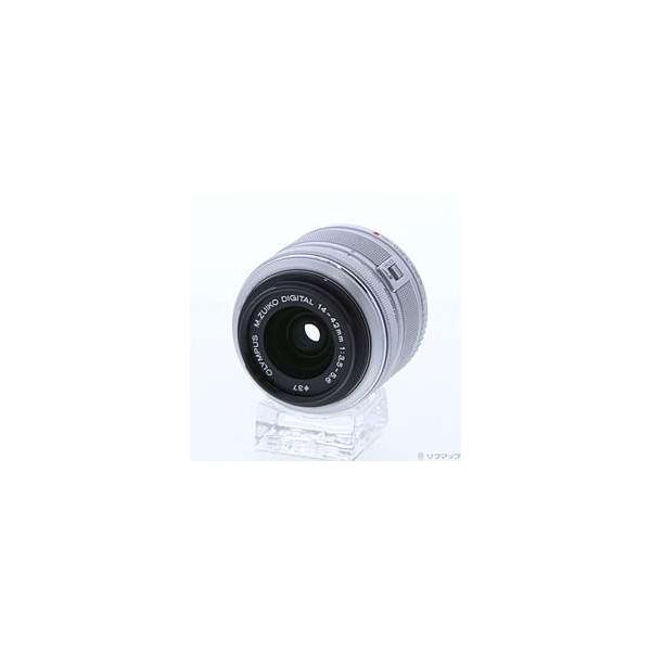 〔中古〕OLYMPUS(オリンパス) M.ZUIKO DIGITAL 14-42mm F3.5-5.6 II (シルバー)〔05/25(月)新入荷〕