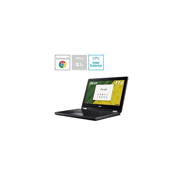 ACER R751T-N14N ノートパソコン Chromebook Spin 11 オブシディアンブラック [11.6型 /intel Celeron /eMMC:32GB /メモリ:4GB /2017年8月モデル]の画像