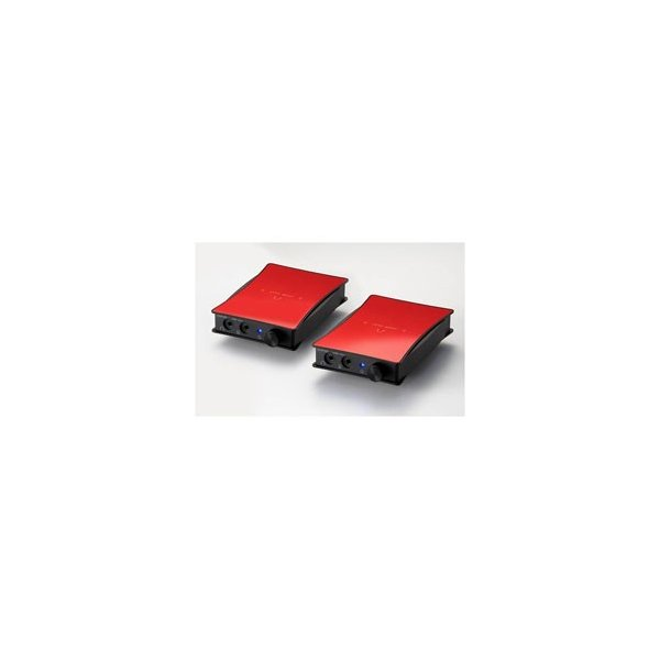 ORB ポータブルヘッドホンアンプ 2セット JADE next Ultimate bi power HD650-Balanced (Red) JNUBIPHD650B