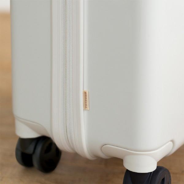 タグレーベル バイ アマダナ TSAロック搭載スーツケース ハードジッパー AT-SC11M メタリックホワイト 【ビックカメラグループオリジナル】