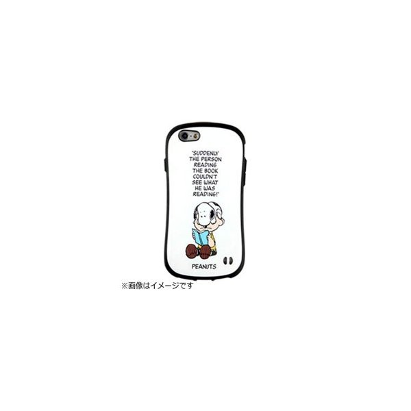 Hamee PEANUTS iFace First Class ケース チャーリー・ブラウン 〔iPhone 6s/6用〕の画像
