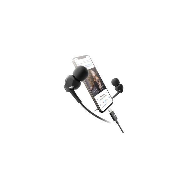 ラディウス HP-N200LK カナル型(耳栓型) ブラック