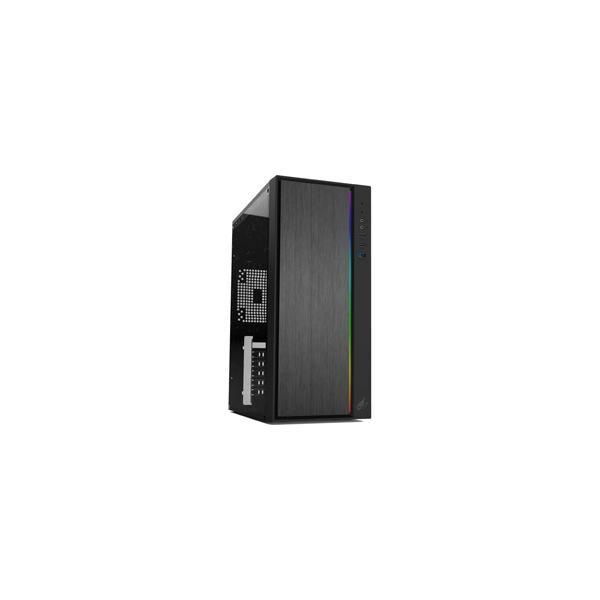 KEIAN(恵安) ゲーミングPCケース GX-PCM-RGB ブラック