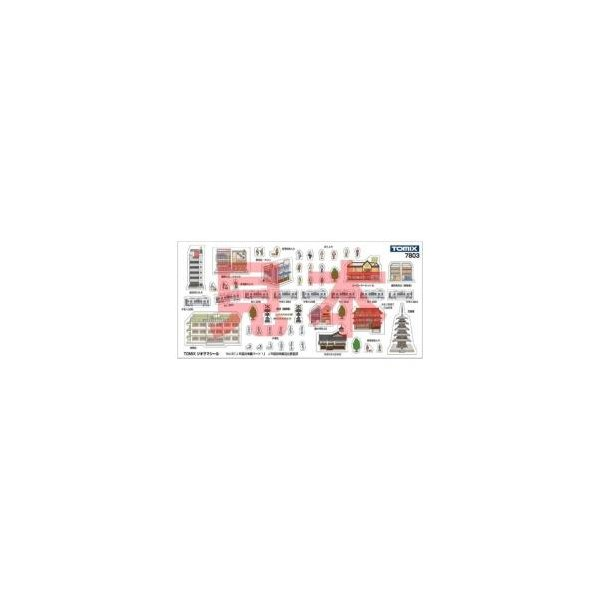 トミーテック Nゲージ 7803TOMIXジオラマシールVol.3JR西日本編パート1