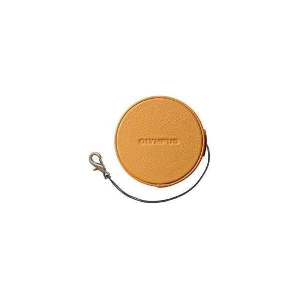 オリンパス 本革レンズジャケット LC-60.5GL LBR ライトブラウン