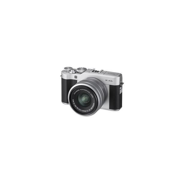 Fujifilm ミラーレス一眼 X-a5レンズキット シルバー X-a5lk-s