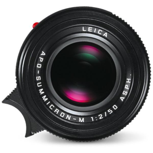 ライカ カメラレンズ アポ・ズミクロンM f2/50mm ASPH.【ライカMマウント】(ブラック) [代引不可]