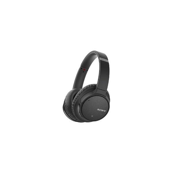 ソニー Bluetoothヘッドホン WH-CH700N B ブラックの画像