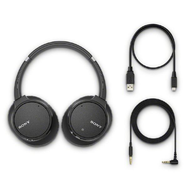 ソニー ブルートゥースヘッドホン WH-CH700N BM ブラック [Bluetooth /ノイズキャンセル対応]