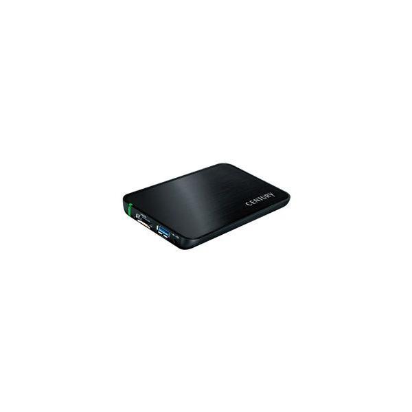 Century シンプルBOX2.5 USB3.0+eSATA SATA6G(CSS25EU3BK6G) [振込不可]