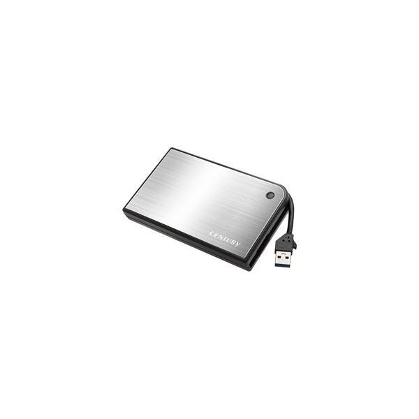 センチュリー (CENTURY) MOBILE BOX USB3.0接続 SATA6G 2.5インチHDD / SSDケース (CMB25U3SV6G)