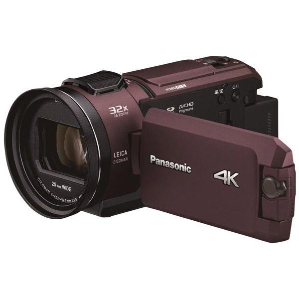 【05/23発売予定】 パナソニック(Panasonic) デジタルビデオカメラ カカオブラウン HCWX2MT
