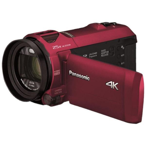 【05/23発売予定】 パナソニック(Panasonic) デジタルビデオカメラ アーバンレッド HCVX992MR
