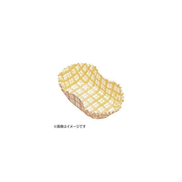 アヅミ産業 紙カップ ココケース小判型(500枚入) 9号 黄 <XAZ3809> [振込不可]
